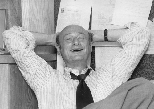 Ed Koch at his campaign office in 1977. *AFP photo