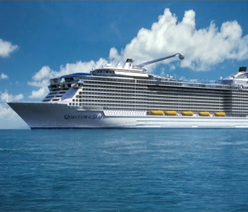 The Quantum of the Seas *Photo supplied