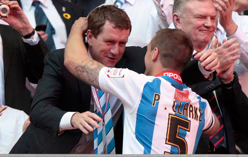 Dean Hoyle, millionaire who bought out Huddersfield *Photo courtesy of the Huddersfield Daily Examiner