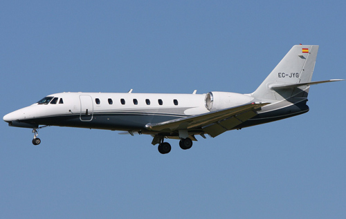A Cessna Citation *Creative Commons photo by Gerry Stegmeier