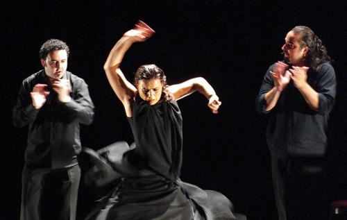 Noche Flamenca leaves hearts racing on Valentine's night