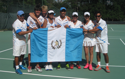 The victorious Guatemalans. *Photo supplied