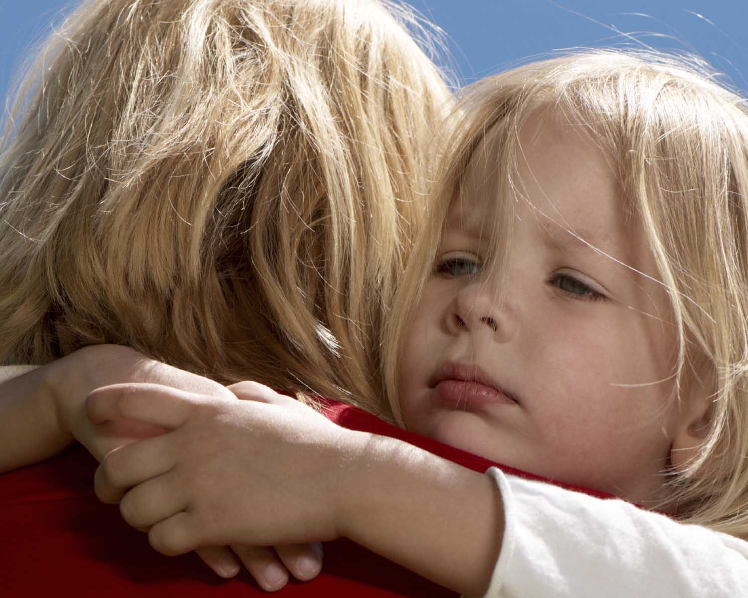 Help your child through separation anxiety by letting them know you are there for them.