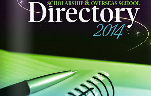Scholarship Directory 2014