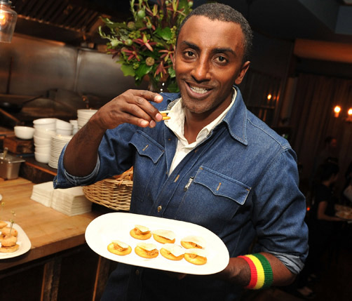 """I'm excited to create new flavours inspired by the rich, vibrant culture and history of Bermuda,"" says chef Marcus Samuelsson. *AFP photo"