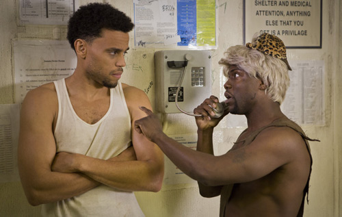 Main man: Kevin Hart, right, in a scene from Think Like A Man Too with Michael Ealy. The film is now showing at Speciality Theatre. *Photo supplied