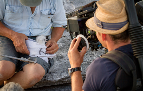 A German film crew have been exploring Bermuda this month for a television series that will air on their national TV network later this year. *Photo supplied